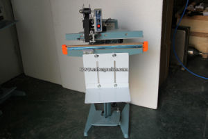 Aluminum Body Pedal Paper Bag Sealing Machine with Coder pictures & photos