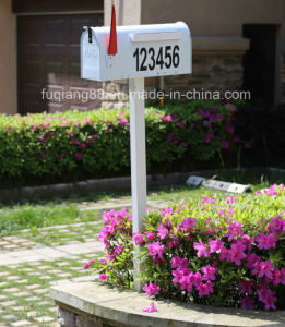 Us Style Mailbox with House Number Light pictures & photos