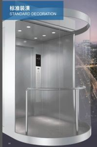 Vvvf Control Panoramic Elevator with Machine Room pictures & photos