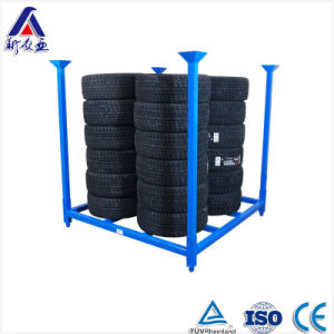 Powder Coated Factory Directly Selling Truck Tire Rack pictures & photos
