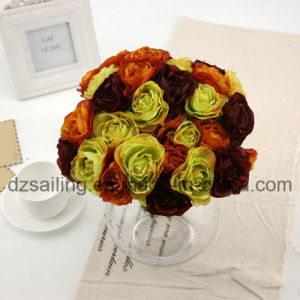 High Quality Decorative Artificial Flower of Camelia Bouquet (SF14654) pictures & photos