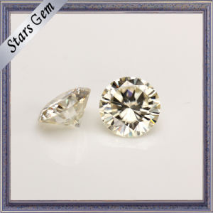 Light Yellow Color Star Cut Natural Moissanite pictures & photos