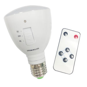 B22 /E27 Socket Rechargeable LED Bulb with Remote pictures & photos