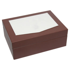 Small Brown Leather Watch Box pictures & photos