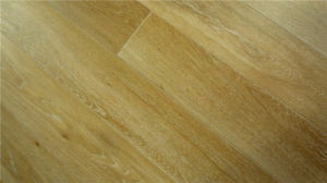 High Quality White Brushed Oak Engineered Wood Flooring pictures & photos