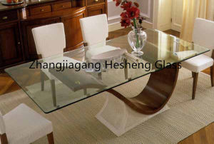 8mm Clear Tempered as Table Glass pictures & photos