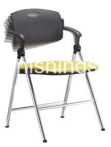 Plastic Back Metal Frame Waiting Chair