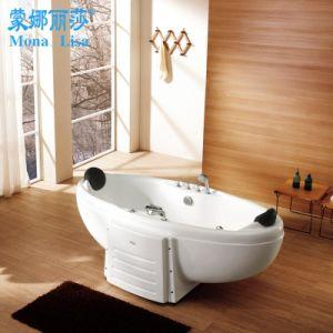 Monalisa Freestanding Boat Shape Design Couple Bathtub (M-2003) pictures & photos