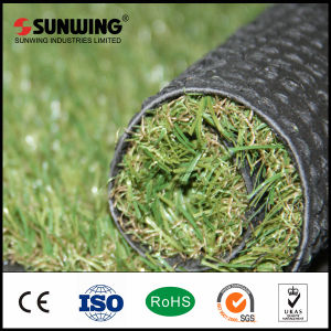 Green Plastic Outdoor Turf Artificial Grass Carpet for Sale pictures & photos