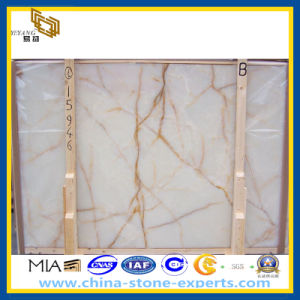 White Bundle Onyx for Wall Decoration (YQZ-MS1022) pictures & photos