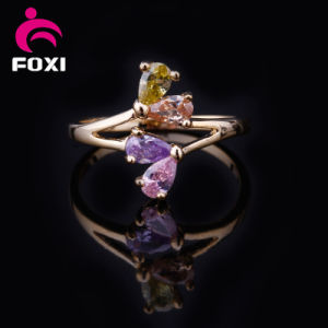 Latest Design 18k Gold Plated Jewelry Rings pictures & photos