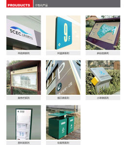 Aluminum Licensing Department Guide Sign pictures & photos