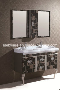 Black Stainless Steel Bathroom Cabinet pictures & photos