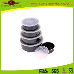 Black Color 5PCS Enamel Bowl for Frozen Cold Food pictures & photos