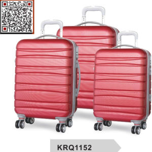 New Design ABS Hard Shell Travel Trolley Luggage pictures & photos