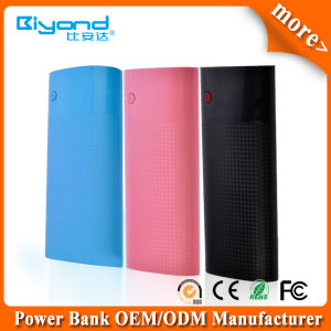 Best Selling Three USB Output Portable Power Bank 13000mAh for Smart Phone