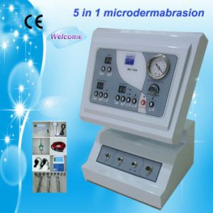 5 in 1 Microdermabrasion Ultrasonic Skin Scrubber Hot & Cool Hammer pictures & photos