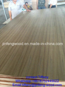 Nature Teak Veneer MDF/Pywood 1220*2440*8mm for Iraq Market Used Furniture Wall pictures & photos