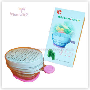 20.5*11*10cm Kitchen Tools Plastic Multifunctional Vegetable Slicer pictures & photos