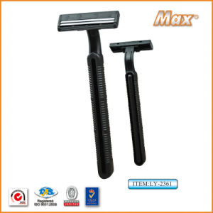 Twin Stainless Steel Blade Disposable Razor Fro Man (LY-2361) pictures & photos