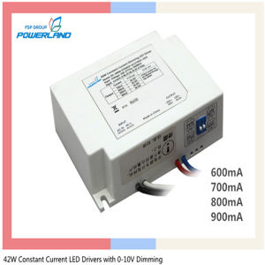 5 Years Warranty 42W 0.6/0.7/0.8/0.9A Constant Current Dimmable LED Driver pictures & photos