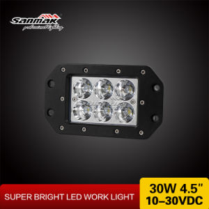 "4.5"" 30watt CE RoHS LED Work Light with IP67 pictures & photos"
