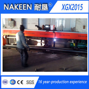 Three Axis Steel Tube Cutting Machine From Nakeen pictures & photos