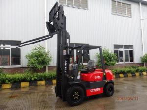3 Ton Diesel Forklift Isuzu Engine with Tilting Fork pictures & photos