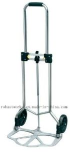 Folding Chrome-Plated Steel Hand Truck (HT022MGS-1) pictures & photos