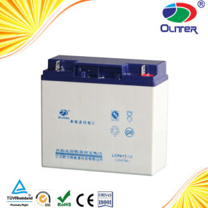 Deep Cycle Solar Lead Acid Battery 12V17ah for Solar Home System and Solar Light pictures & photos