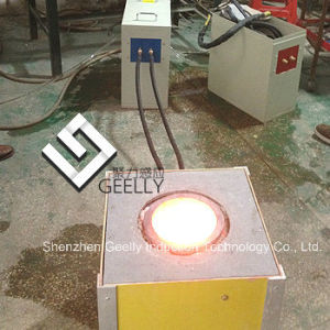 Induction Melting Furnace for Melting 30kgs of Copper, Brass, Silver, Gold pictures & photos