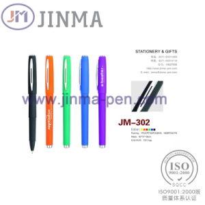 The Promotion Gifts Plastic Gel Ink  Pen Jm-302 pictures & photos