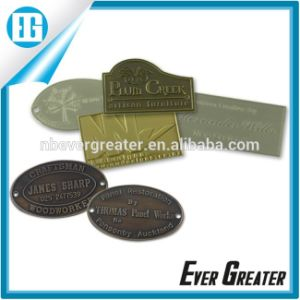 20 Years Experience Customized Aluminum Sticker Metal Sticker Metal Nameplate pictures & photos
