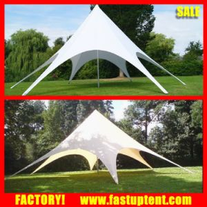 Garden Shelter Star Tent with White PVC and Alumium Pole pictures & photos