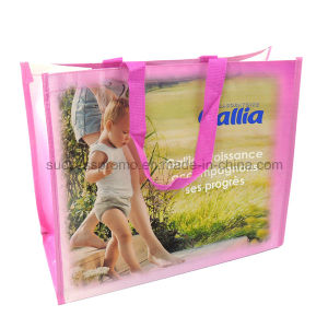 Full Colors Reusable PP Woven Bag, Tote Bag for Promotion pictures & photos