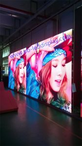 P6.25 Outdoor Full Color LED Panel LED video Wall Display 500*1000mm pictures & photos
