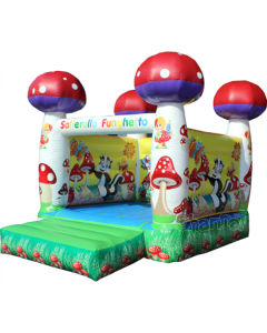 Inflatable Mushroom Bouncy Castle/Jumping Bouncer Castle for Kids CB1104 pictures & photos