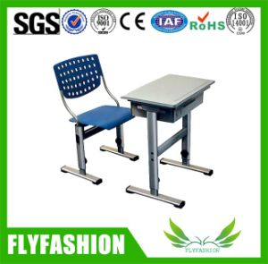 Durable School Furniture Single Desk and Chair (SF-37S) pictures & photos
