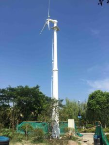 New Small Wind Turbine 10kw Generator for School