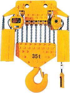 35t European Electric Chain Hoist Crane pictures & photos
