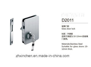 Xc-D2011 High Quality Furniture Hardware Stainless Steel Glass Door Lock pictures & photos