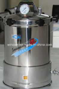 Medical Vertical High Pressure Autoclave, Portable Sterilizer pictures & photos