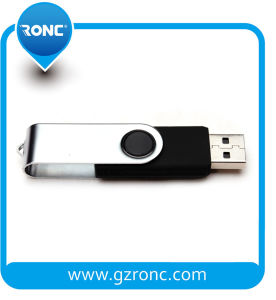 Swivel 8GB USB Flash Disc with OEM Logo Printed pictures & photos