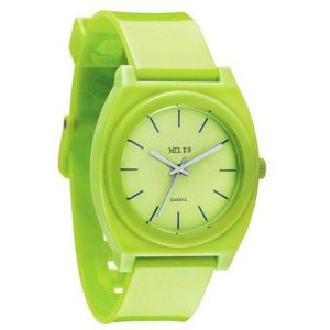 New Arrive Green Color Silicone Wristband Jelly Watch pictures & photos