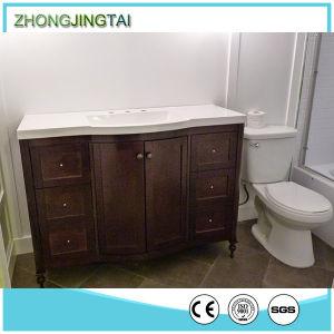Free Sample Available Quartz Stone Bathroom Vanity Top pictures & photos