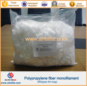 High Tenacity PP Fiber for Cement pictures & photos