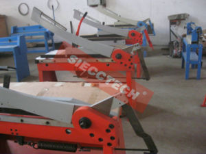 Hand Guillotine Shearing Machine (Guillotine shear GS1000I) pictures & photos