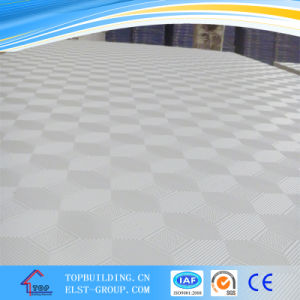 244# PVC Gypsum Ceiling Tile/ Gypsum Ceiling pictures & photos