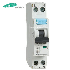 Drnl 32A 30mA 1p+N RCBO Residual Current Circuit Breaker 6ka with SAA pictures & photos