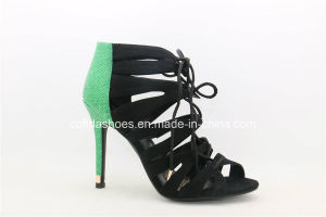 New Sexy Elegant High Heels Women Sandal Shoes pictures & photos
